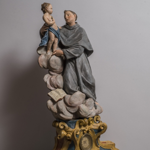 Reliquary with Vision of Saint Anthony of Padua, - Bacarelli Antichità