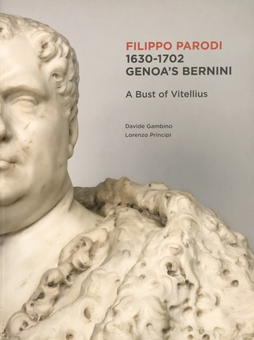FILIPPO PARODI 1630-1702 GENOA'S BERNINI - A bust of Vitellius